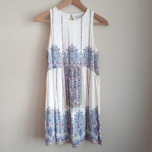 Zara Trafaluc Sleeveless Swing Dress